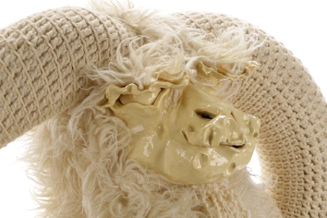 Edna Cataldo Sculptural Ram Bench - 9