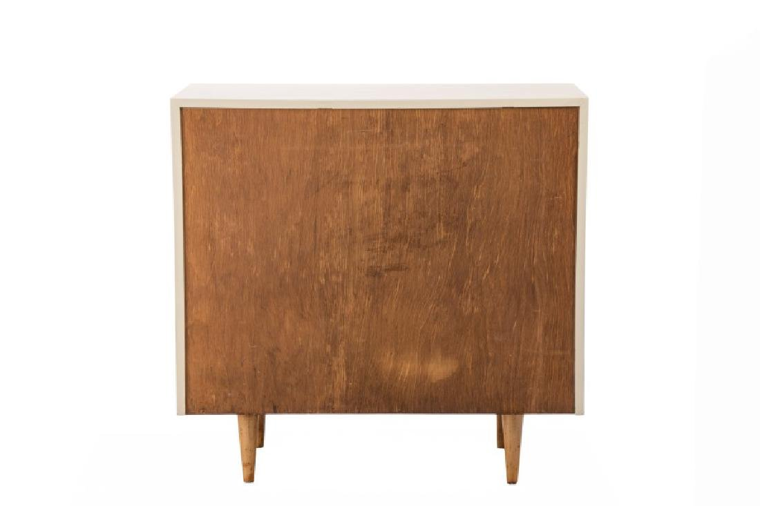 Florence Knoll Louvered Maple Dresser - 2