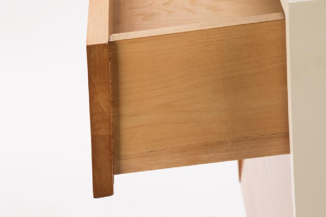 Florence Knoll Louvered Maple Dresser - 5