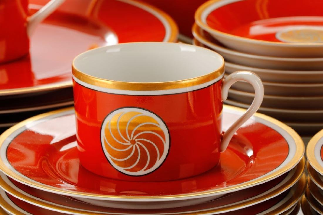 Fitz & Floyd 'Medallion D'Or' Porcelain Dinner Set - 6