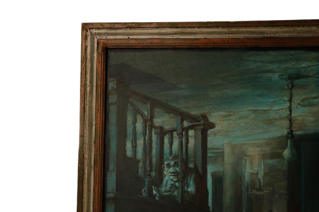 """Jim Yarborough,""""Interior with Nightmares,"""" Acrylic - 2"""