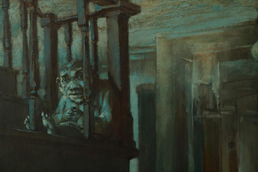 """Jim Yarborough,""""Interior with Nightmares,"""" Acrylic - 3"""