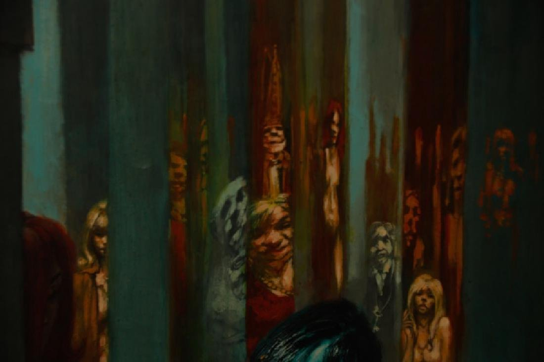 """Jim Yarborough,""""Interior with Nightmares,"""" Acrylic - 4"""