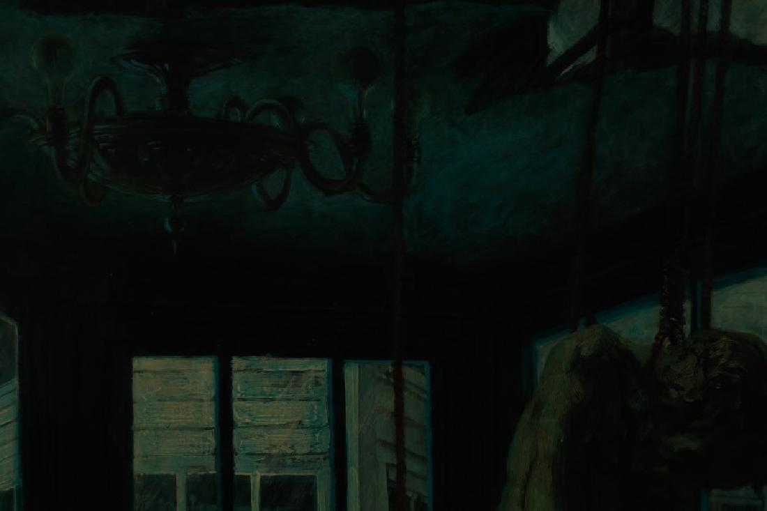 """Jim Yarborough,""""Interior with Nightmares,"""" Acrylic - 7"""