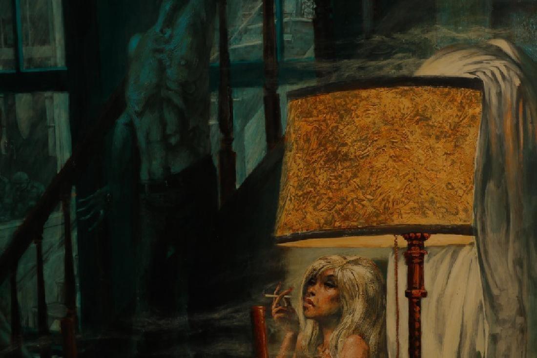 """Jim Yarborough,""""Interior with Nightmares,"""" Acrylic - 9"""