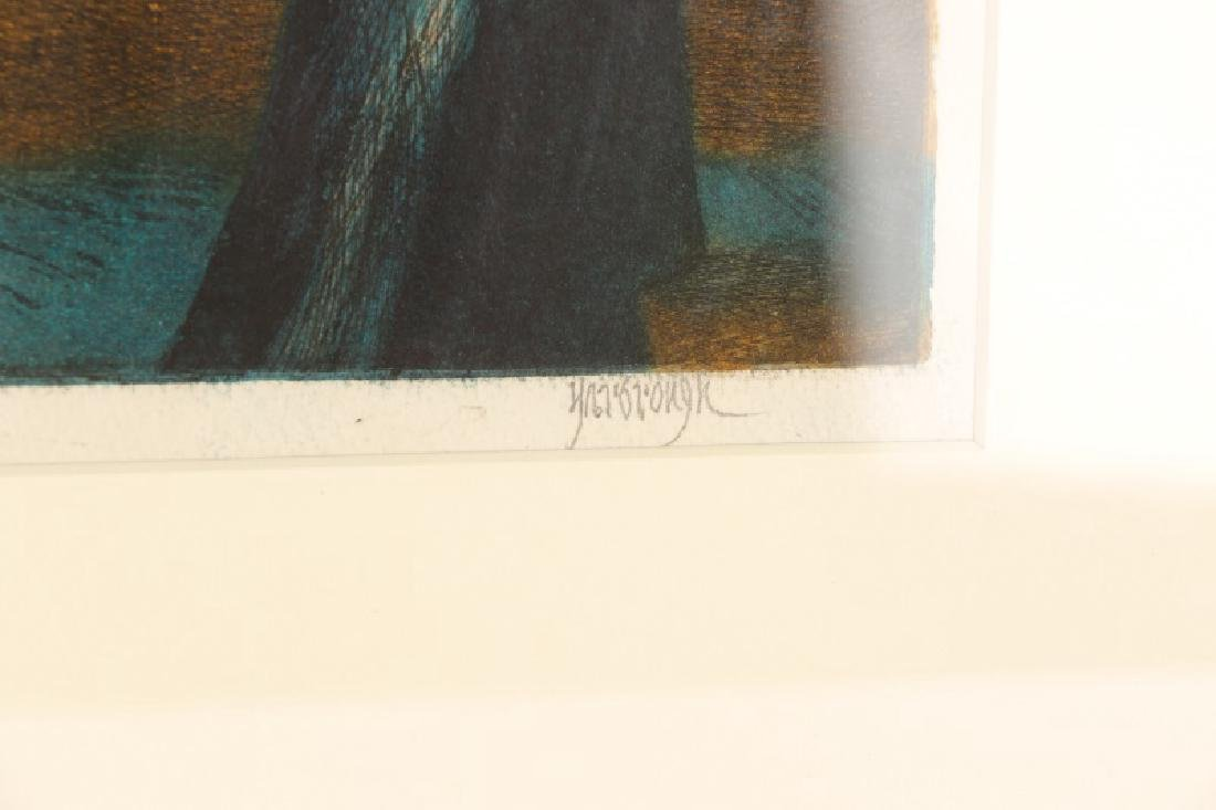 "Jim Yarborough ""Reenactment,"" Hand-Colored Etching - 9"