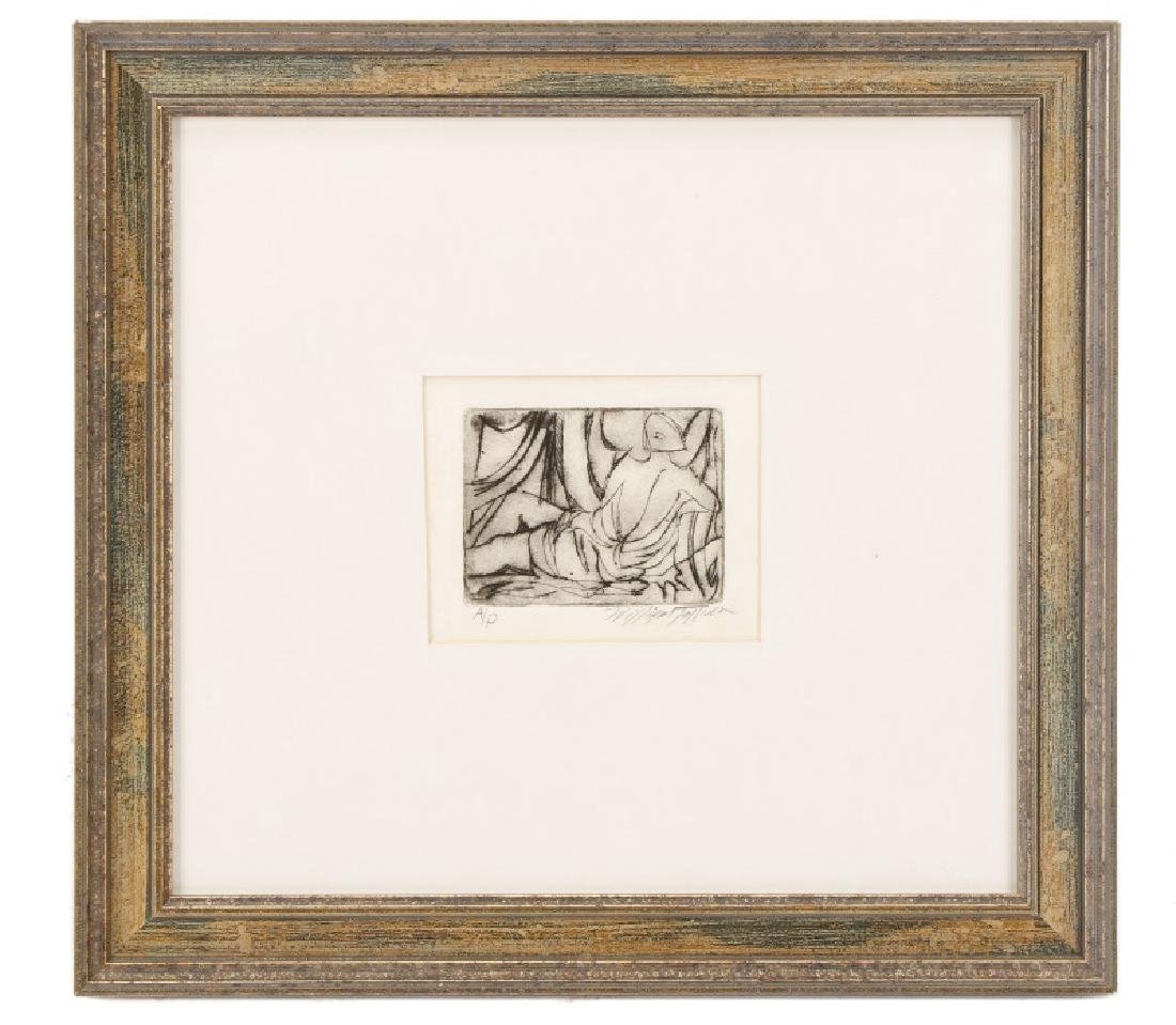 William Tolliver, Monotone Etching, Artists Proof