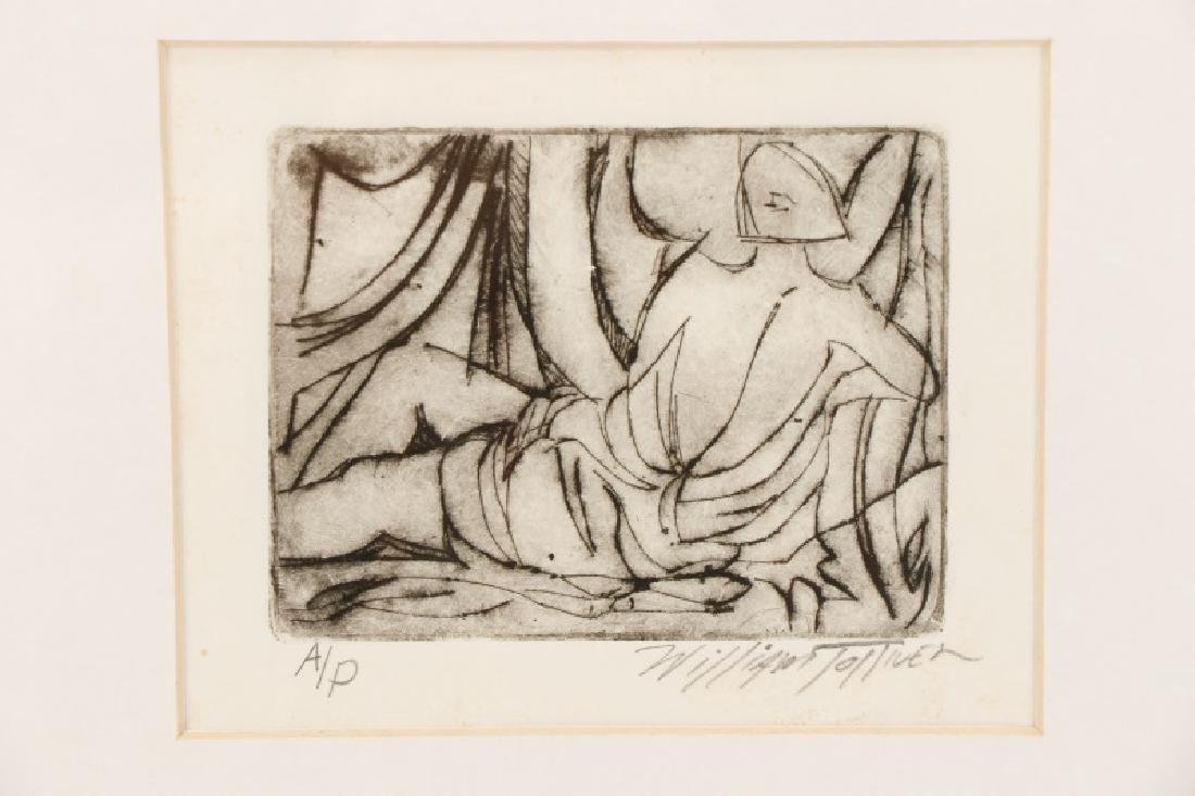 William Tolliver, Monotone Etching, Artists Proof - 2