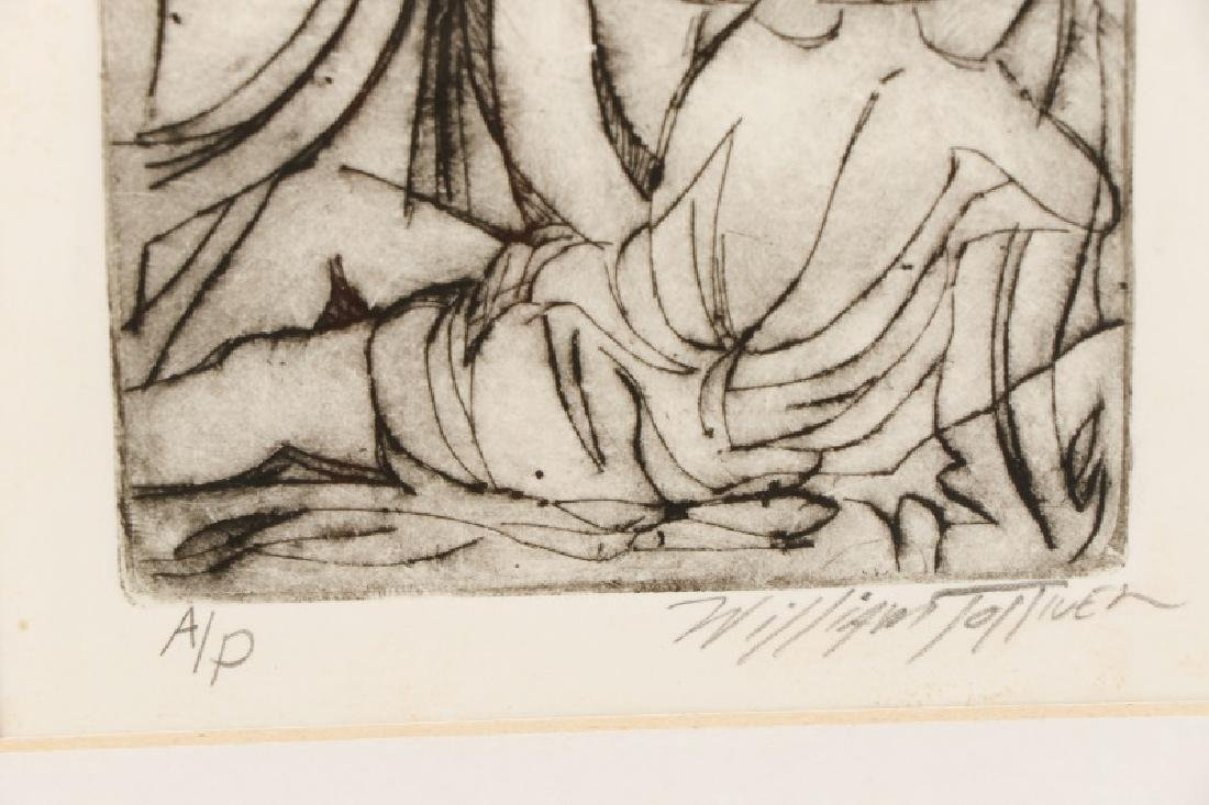 William Tolliver, Monotone Etching, Artists Proof - 4