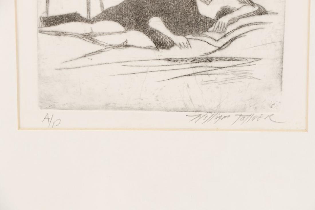 William Tolliver, Monotone Etching,  Artists Proof - 3
