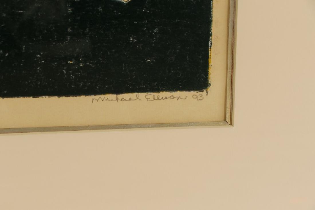 """Michael Ellison, """"Feet Don't Fail Me Now"""", Signed - 8"""