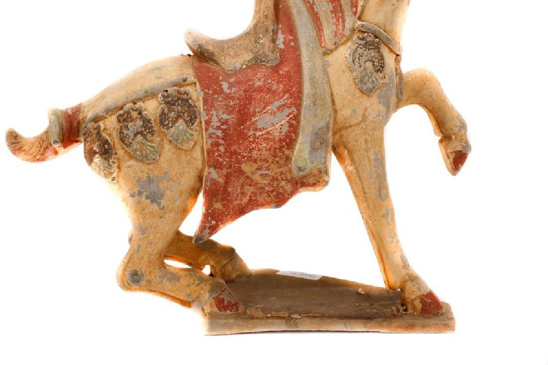 Tang Dynasty Style Terracotta Pottery Horse - 10