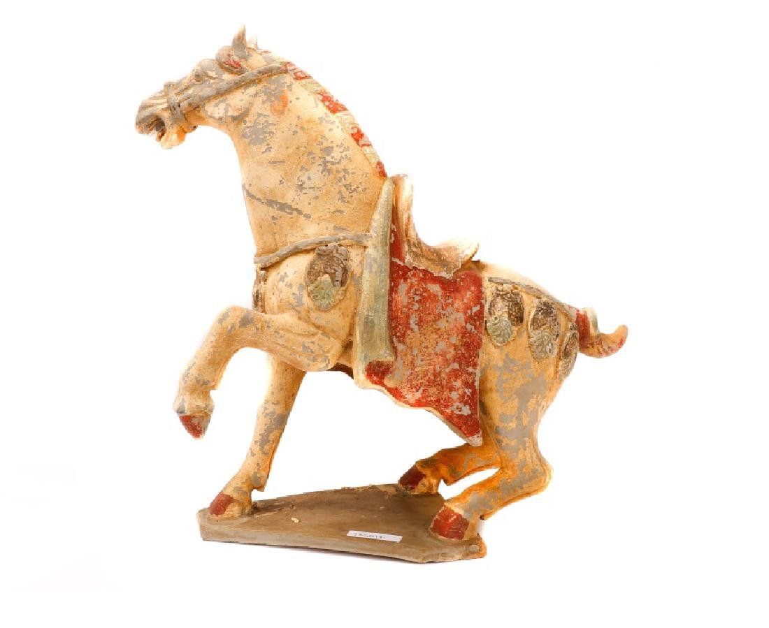 Tang Dynasty Style Terracotta Pottery Horse