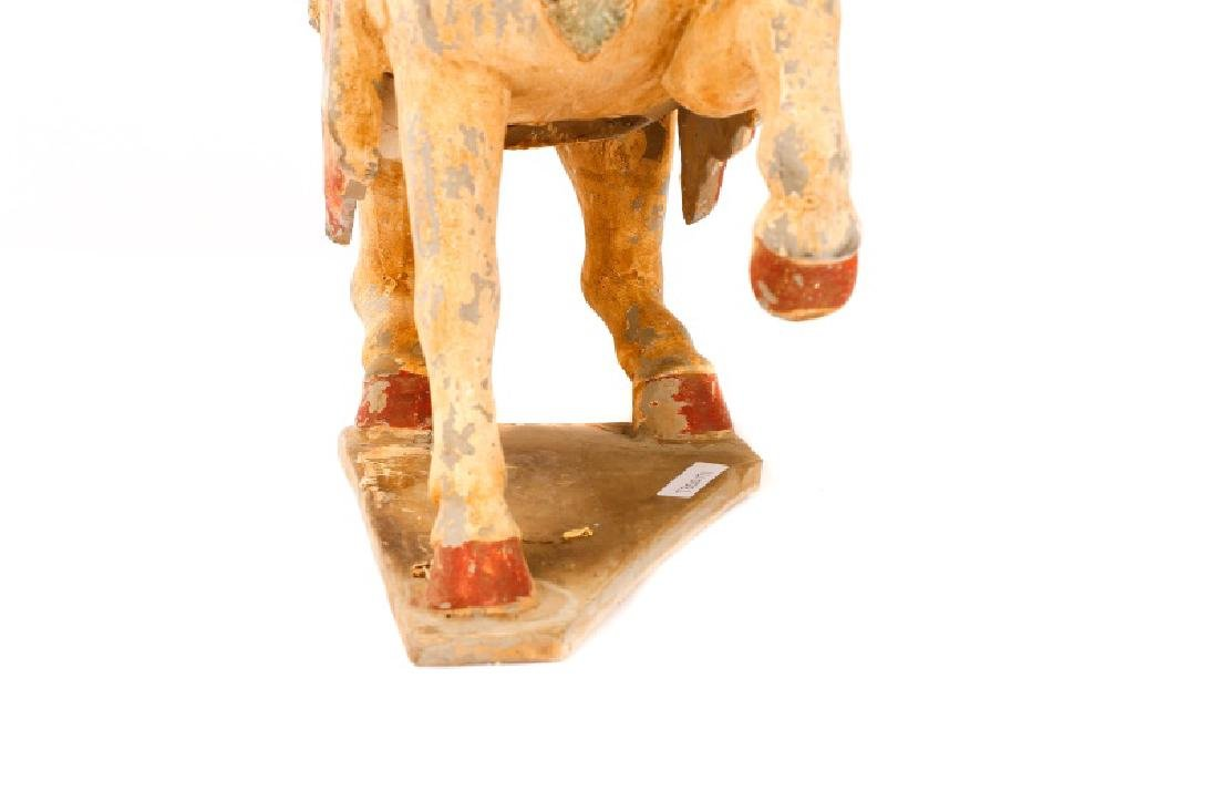 Tang Dynasty Style Terracotta Pottery Horse - 7