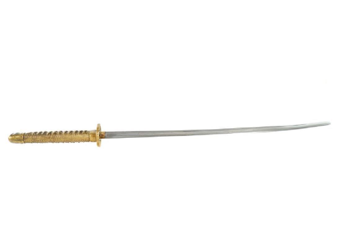 Japanese WWII Style Katana Sword w/ Scabbard - 10
