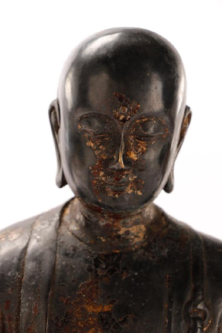 Bronze Figure of Seated Buddha - 6