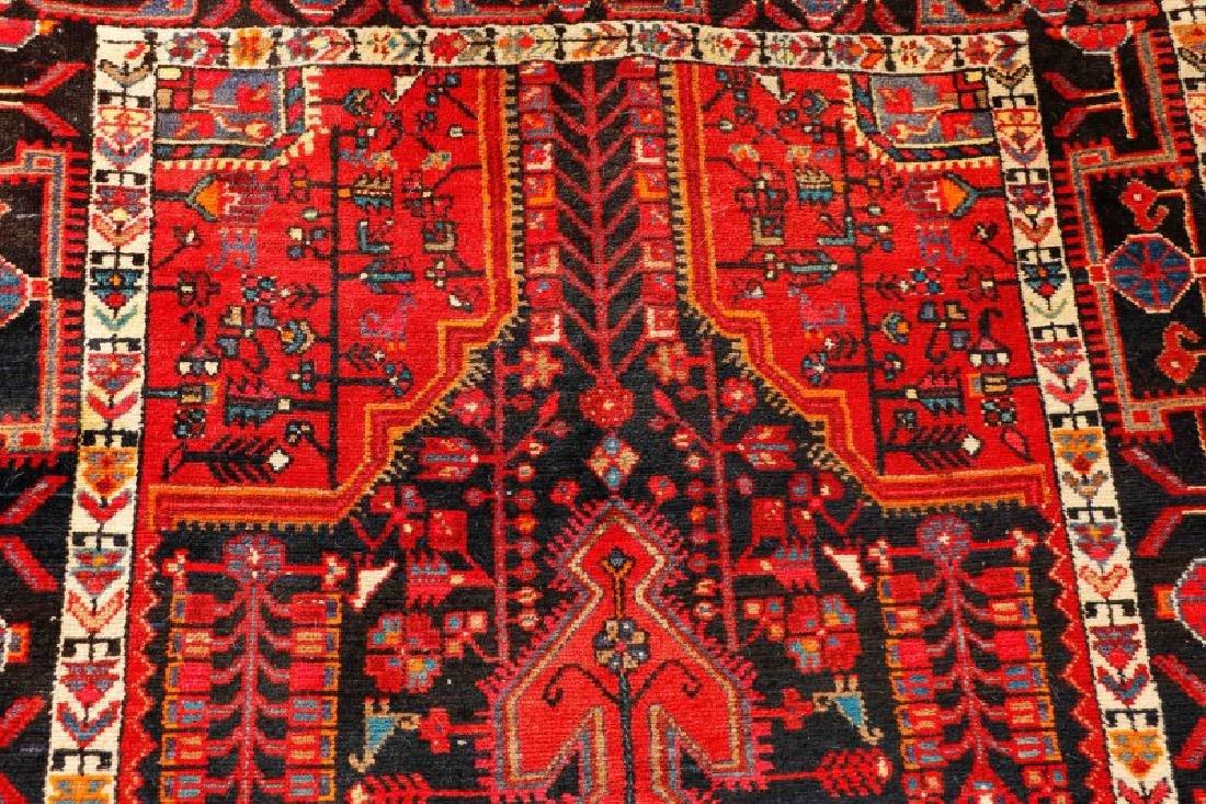"Hand Woven Persian Hamadan Rug - 5' 4"" x 10' 4"" - 5"