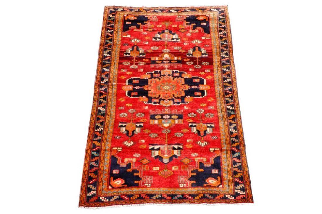 Hand Woven Persian Hamadan 4' 9'' x 7' 10''
