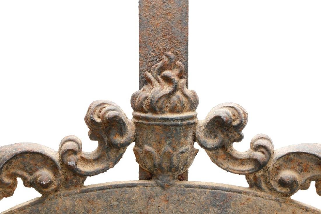 Continental Wrought Iron Church Yard Gate - 2