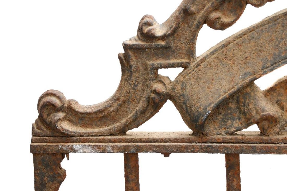 Continental Wrought Iron Church Yard Gate - 3