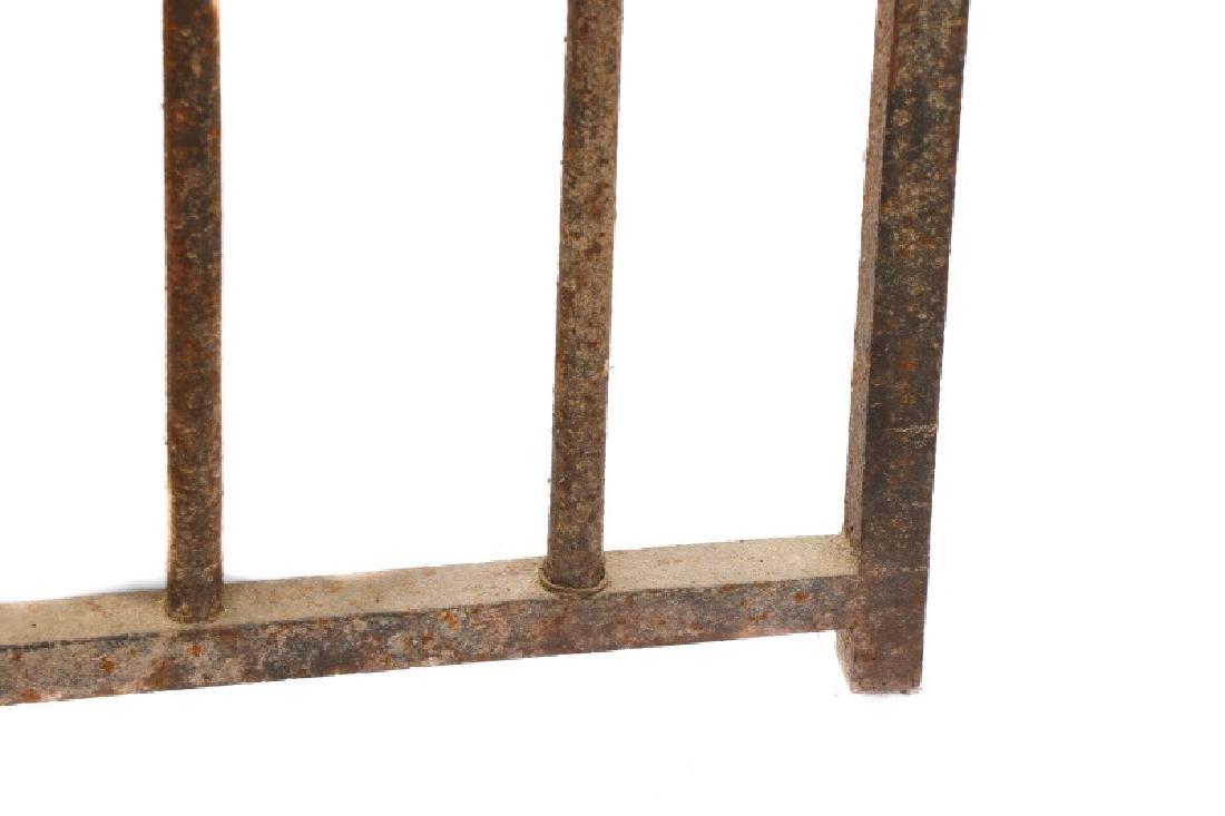Continental Wrought Iron Church Yard Gate - 4