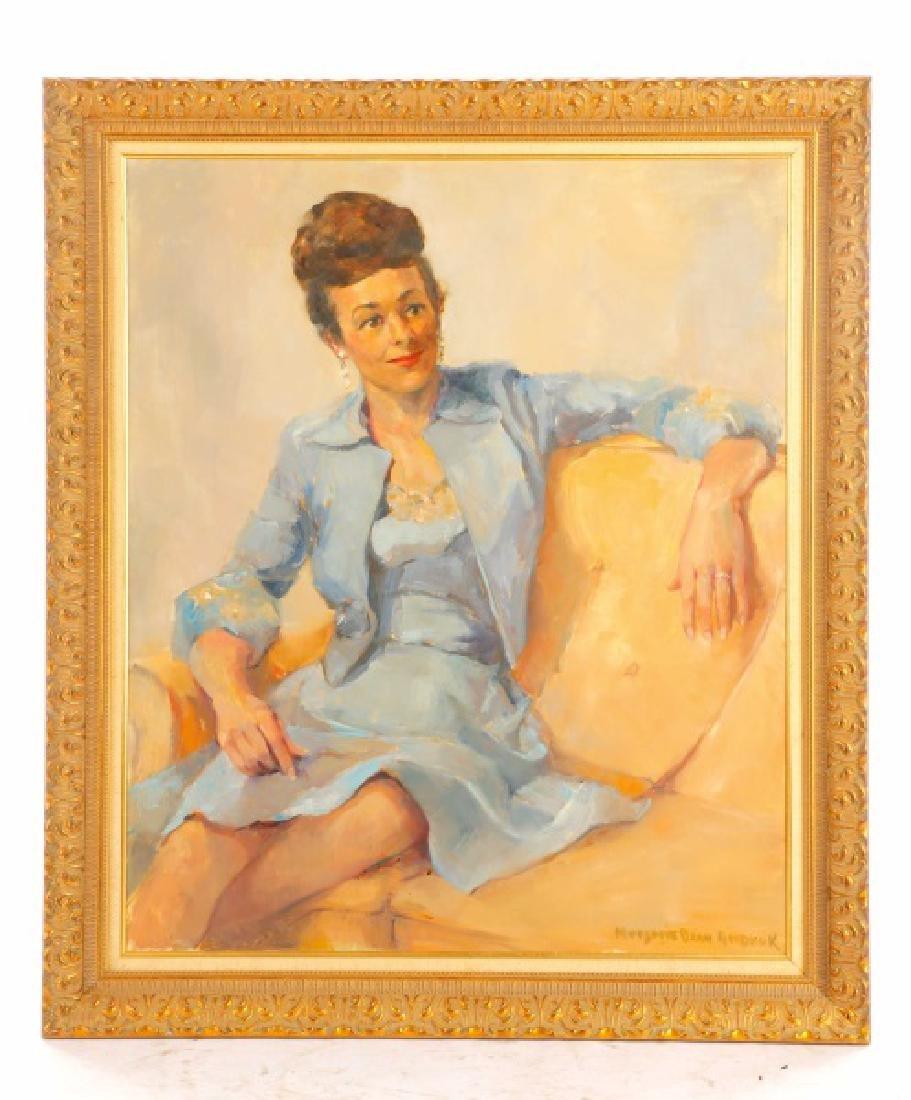 "Marjorie Dean Andruk, ""Portrait,"" O/C"