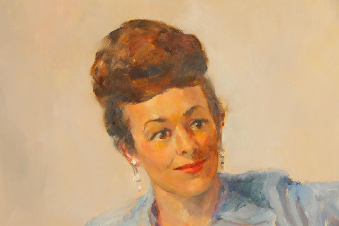 "Marjorie Dean Andruk, ""Portrait,"" O/C - 2"