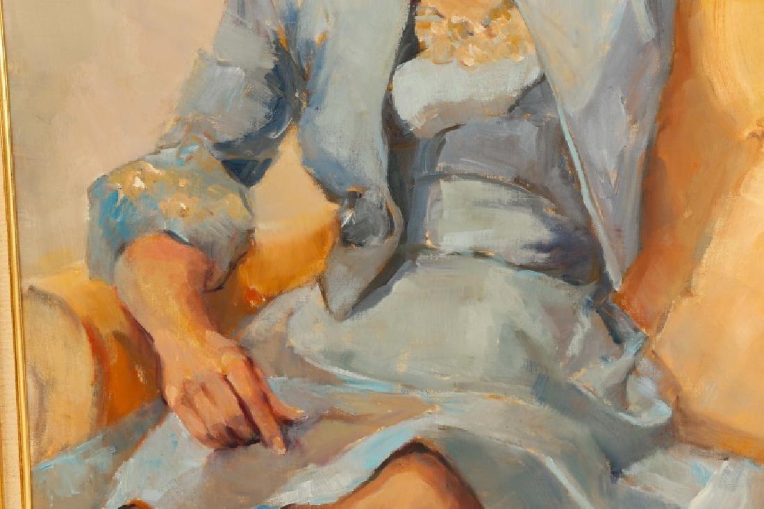 "Marjorie Dean Andruk, ""Portrait,"" O/C - 4"