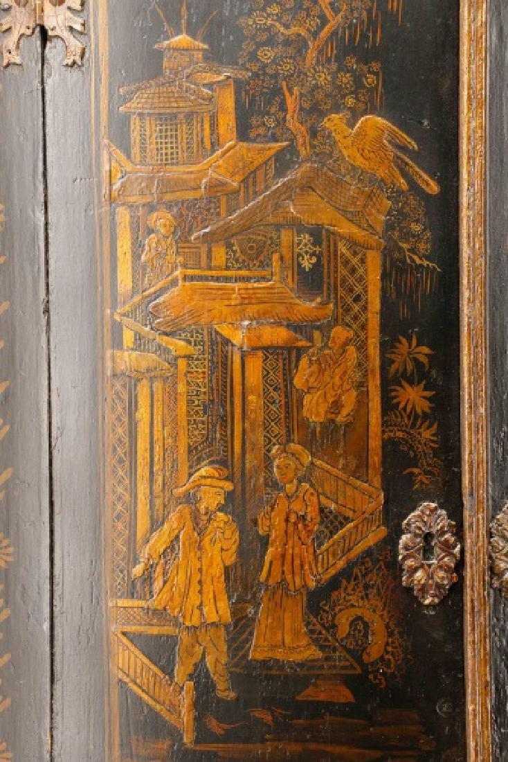 English Chinoiserie Corner Cabinet - 3