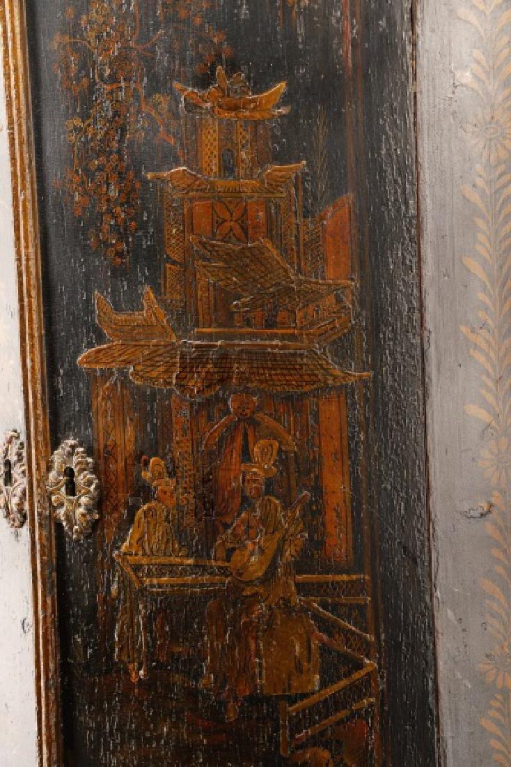 English Chinoiserie Corner Cabinet - 4