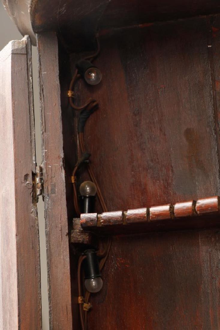 English Chinoiserie Corner Cabinet - 7