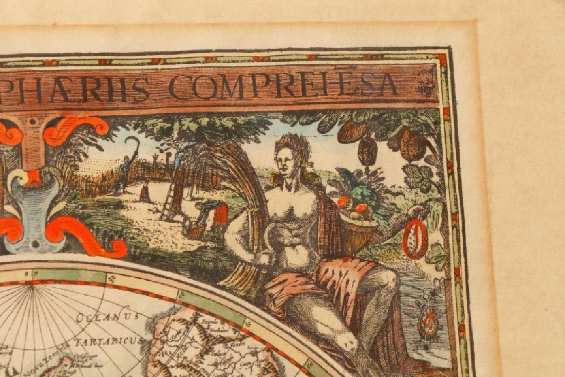 After Van Geelkercken, Orbis Terrarum Map - 11