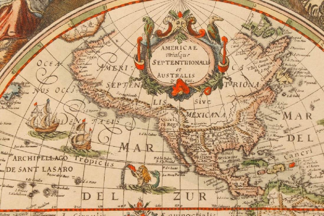 After Van Geelkercken, Orbis Terrarum Map - 2