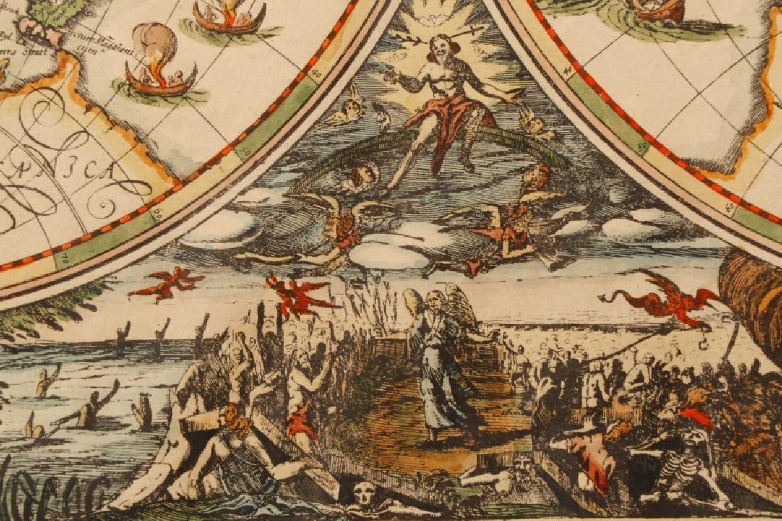 After Van Geelkercken, Orbis Terrarum Map - 6