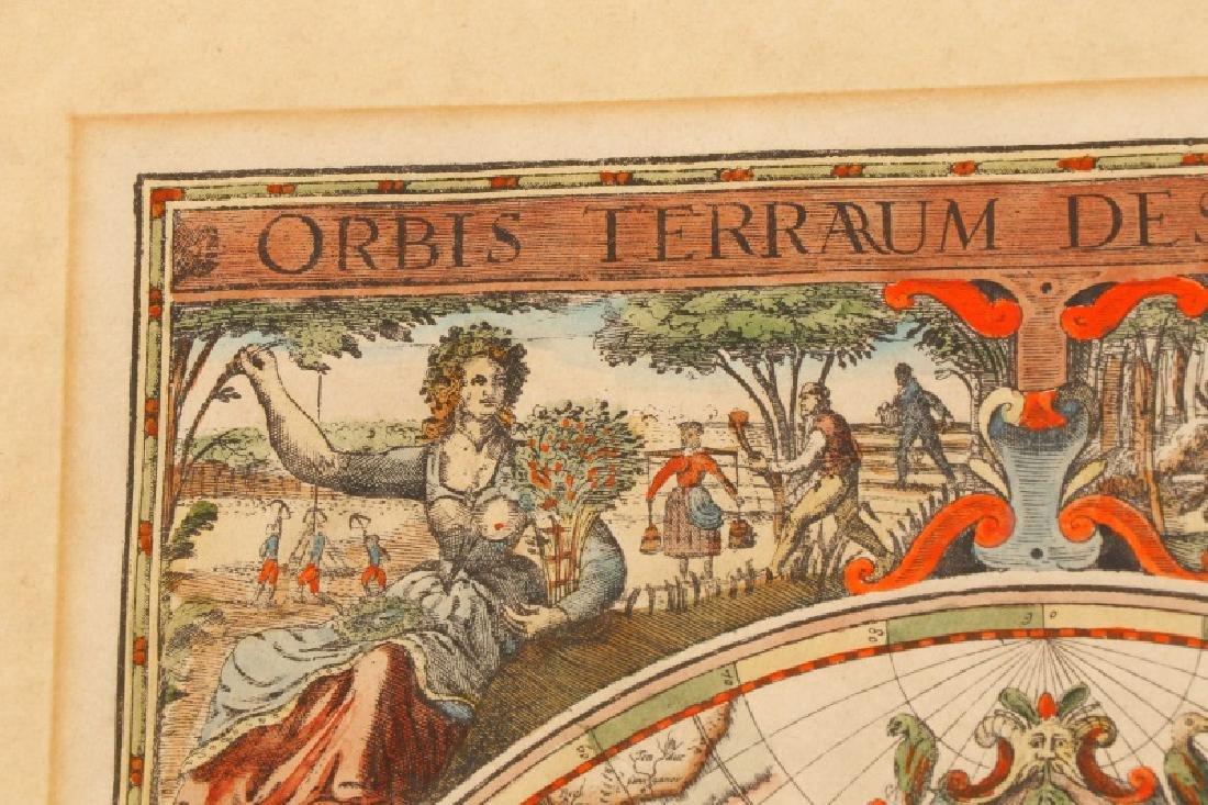 After Van Geelkercken, Orbis Terrarum Map - 8