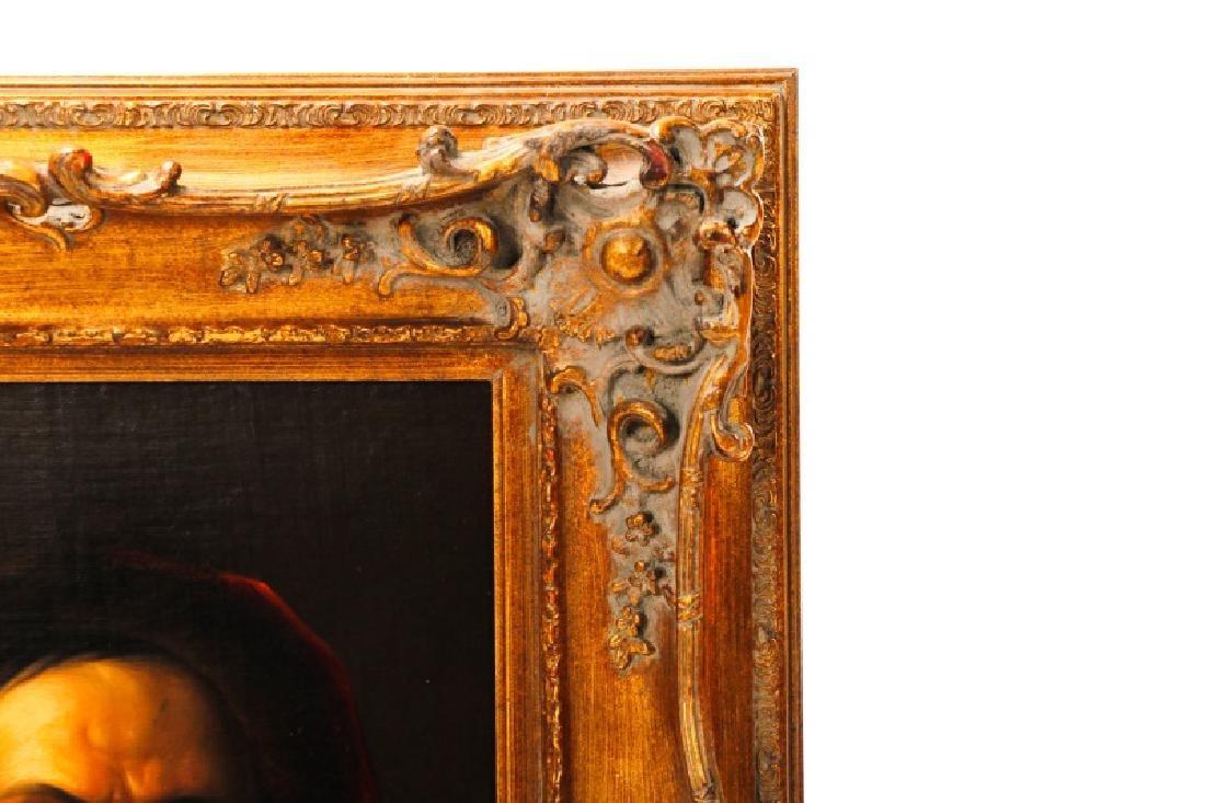 19th C. Dutch Golden Age Style Portrait of a Man - 2