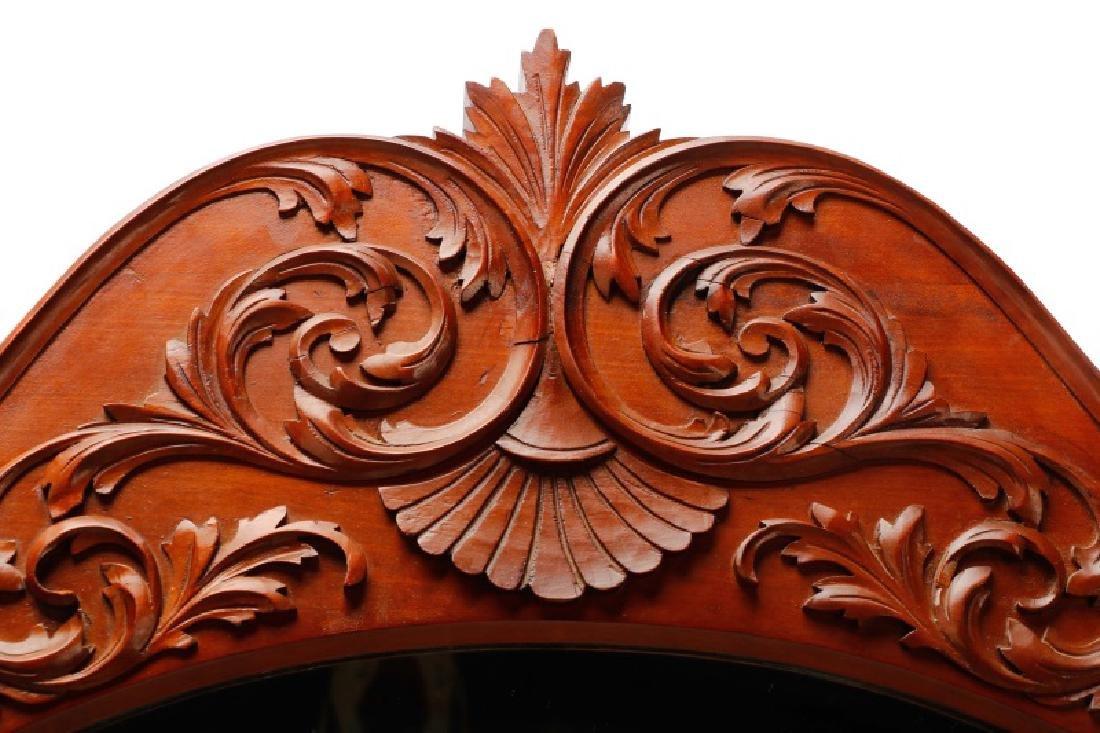 American Cherry Renaissance Revival Style Mirror - 2