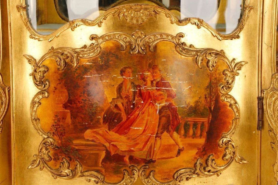Louis XV Style Vitrine Cabinet, Robert Mitchell - 2