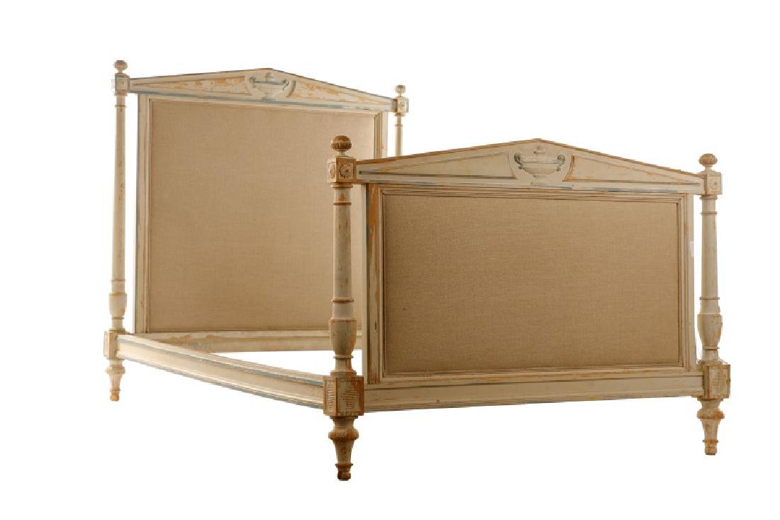 French Directoire Style Painted Bed