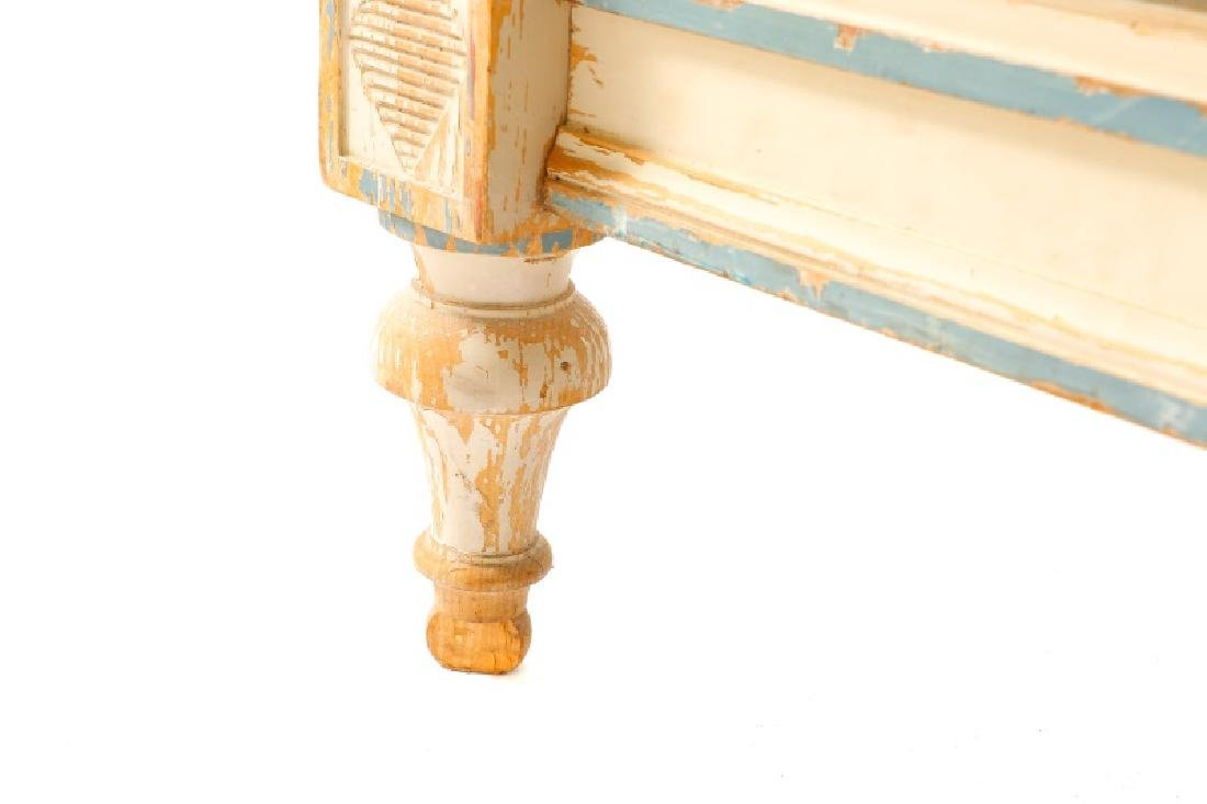 French Directoire Style Painted Bed - 3
