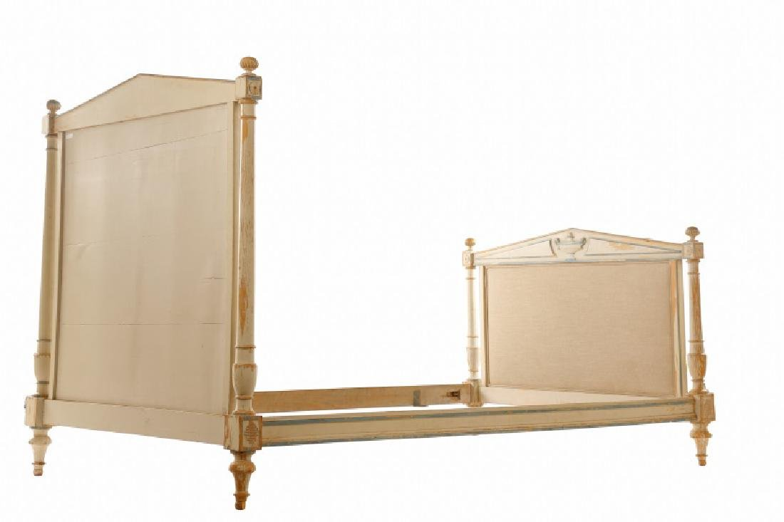 French Directoire Style Painted Bed - 6