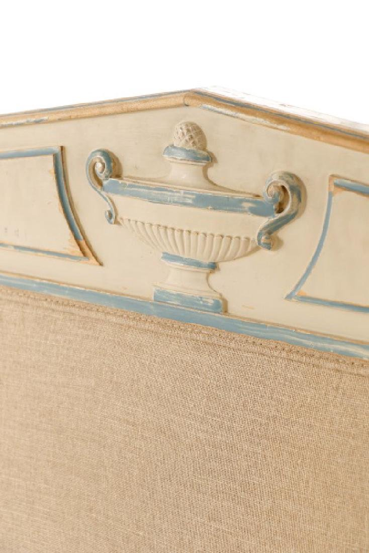 French Directoire Style Painted Bed - 7