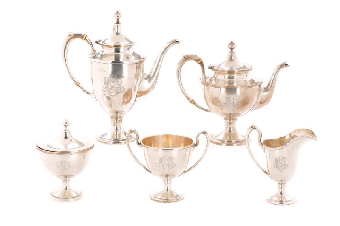 Schofield Company 5-Piece Sterling Tea Service