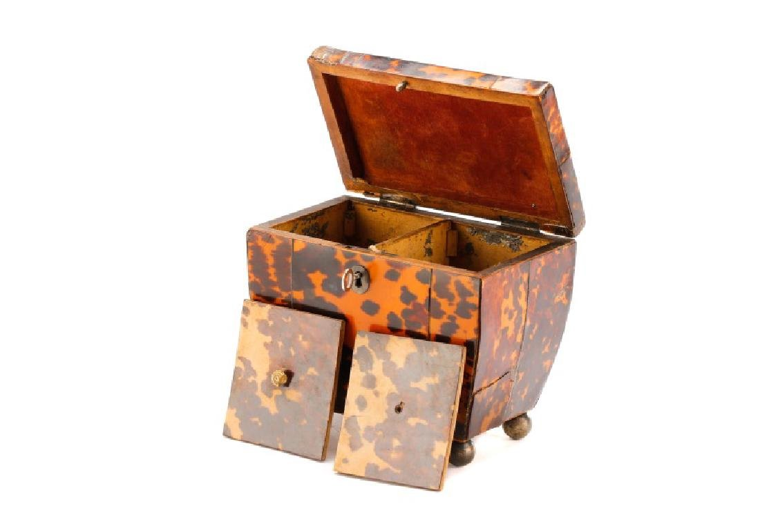English Georgian Tea Caddy, 19th Century - 3