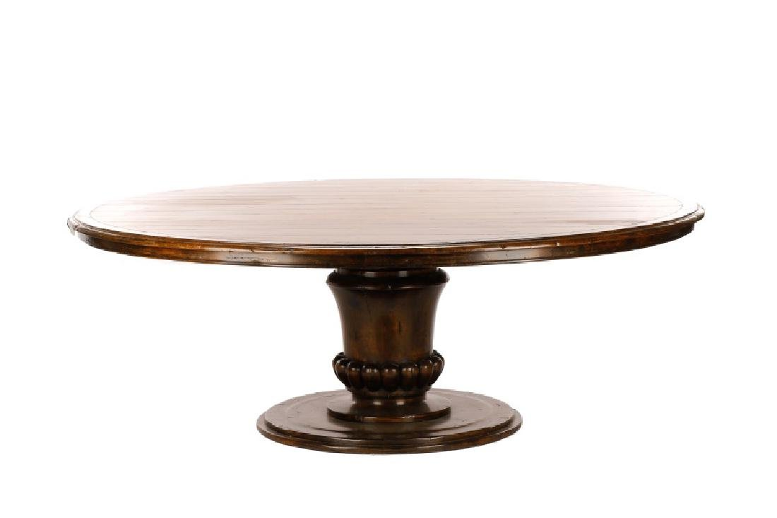 Guy Chaddock French Country Style Oak Dining Table