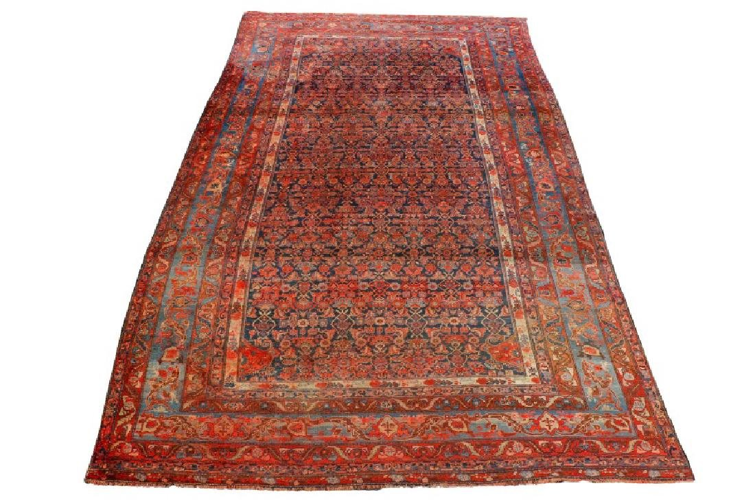 "Palatial Hand Woven Persian Heriz - 13' x 17' 10"""