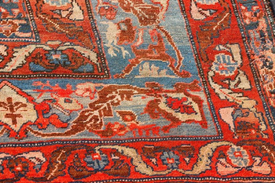 "Palatial Hand Woven Persian Heriz - 13' x 17' 10"" - 2"