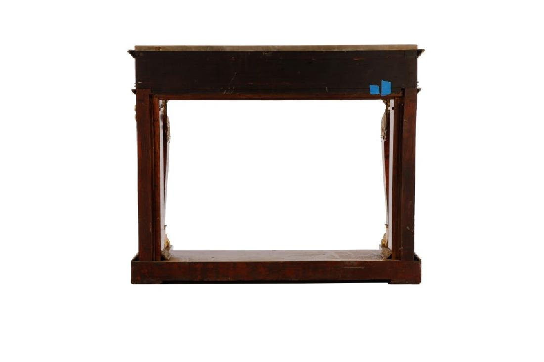 American Empire Figural Mahogany Pier Table - 3