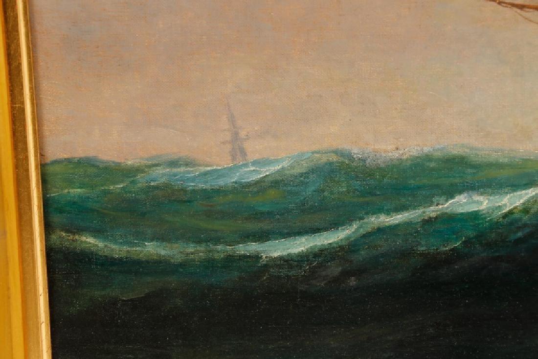 Edward Hoyer, Marine Oil Painting, Signed - 6