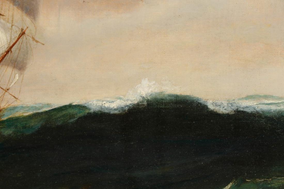 Edward Hoyer, Marine Oil Painting, Signed - 7